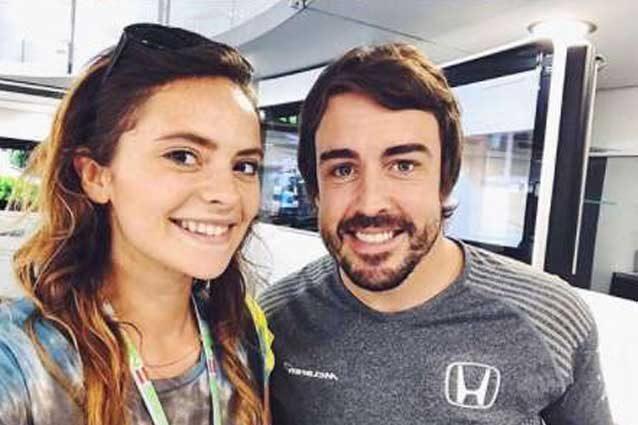 Francesca Michielin e Fernando Alonso / Instagram