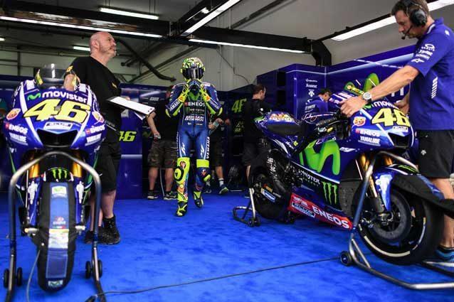 MotoGP, M1 di Valentino Rossi e Maverick Vinales: nuovi colori per la Yamaha 2018?