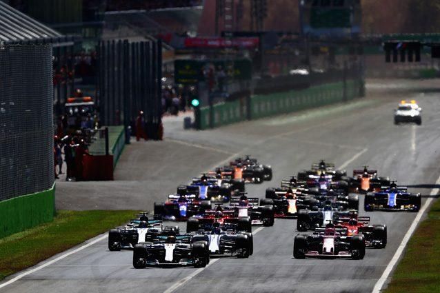 La partenza del GP d'Italia – Getty images