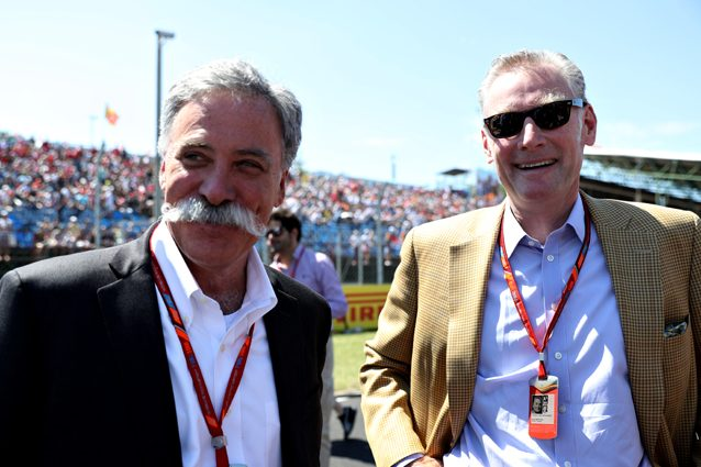 Chase Carey, il boss di Liberty Media – Getty images