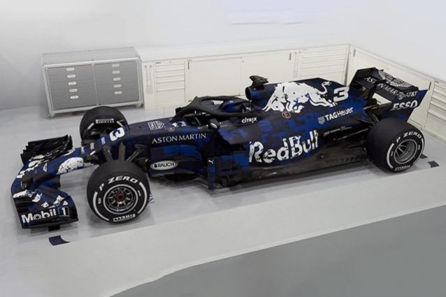 Formula 1 2018, ecco la Red Bull RB14