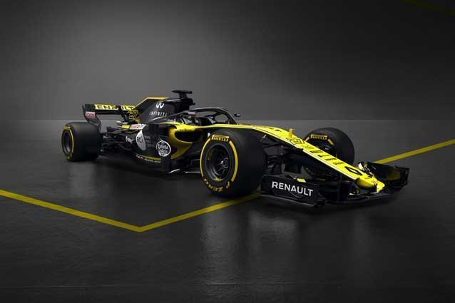 F1, svelata la nuova Renault RS18