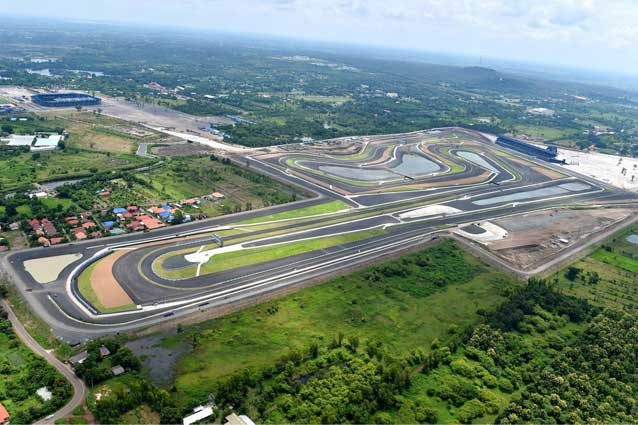 IL il Chang International Circuit di Buriram / MotoGp.com