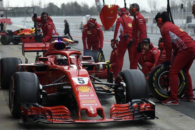 F1: test Barcellona iniziati alle 12