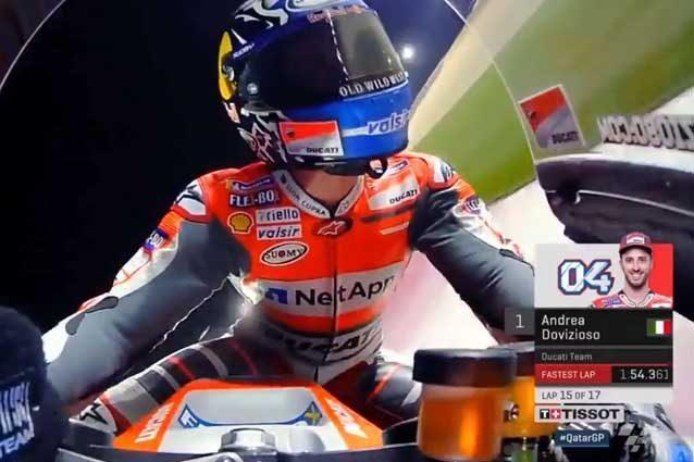 MotoGp: Qatar, vittoria di Dovizioso