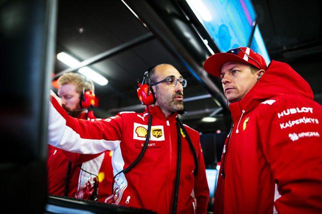 F1: Raikkonen chiude i test al comando, sorprende Alonso