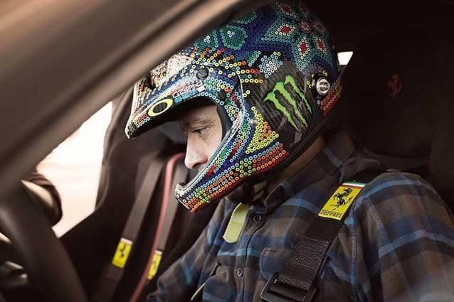 Fiorano, tester speciale: c'è Rossi sulla Ferrari 488 Pista