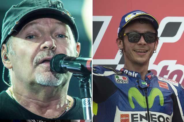 Vasco Rossi e Valentino Rossi