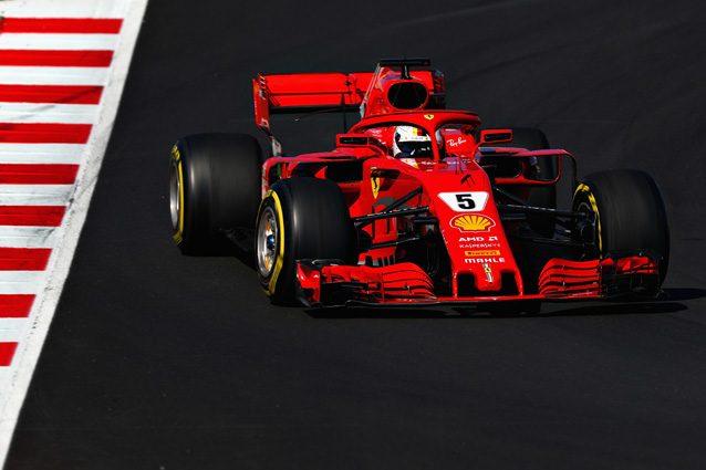 Formula 1, test Barcellona: Vettel e la Ferrari da record