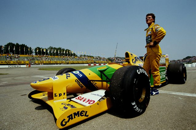 La Benetton B192 di Michael Schumacher – Getty images