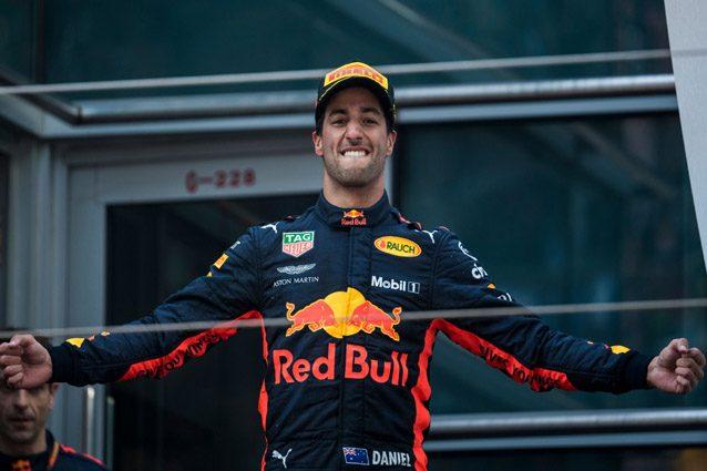 Formula1 Ricciardo: