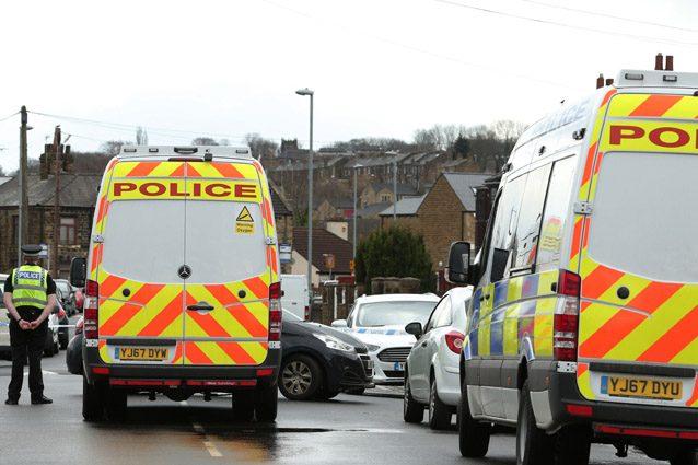 La polizia inglese – LaPresse