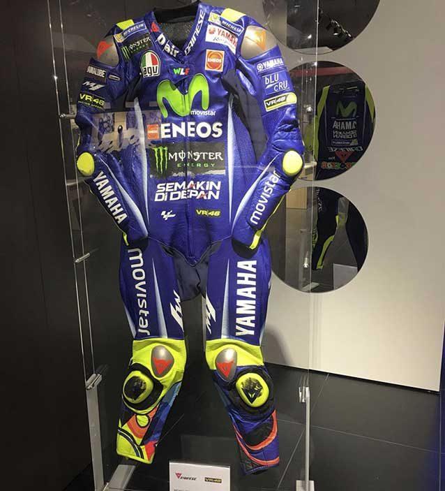 La tuta di Valentino Rossi