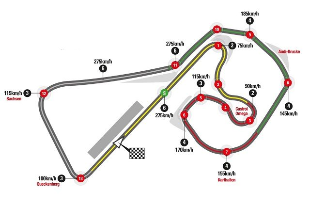 MotoGp Germania, la pole è di Marquez. Poi Petrucci, seconda fila Dovizioso-Rossi