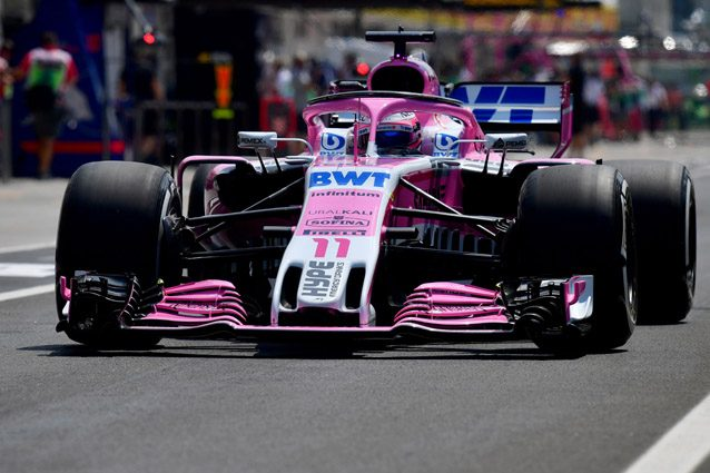 La Force India – Getty images