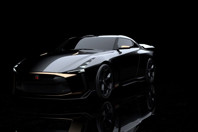 NIssan GT–R50 by Italdesign