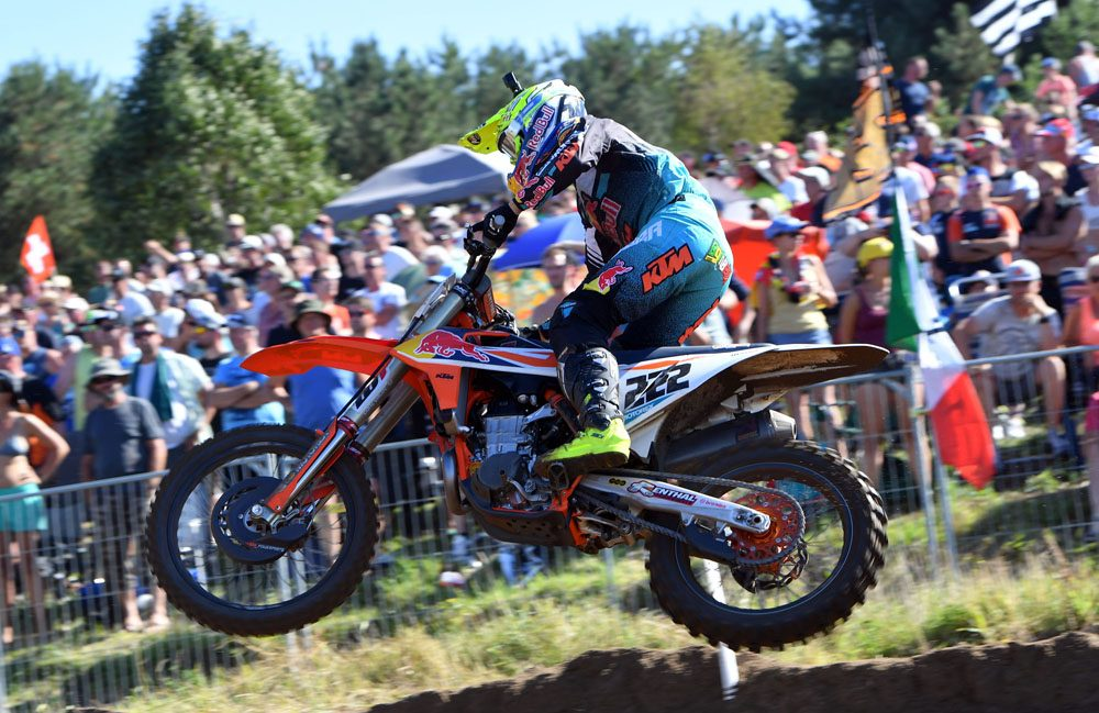 Cairoli in azione a Lommel / De Carli Racing