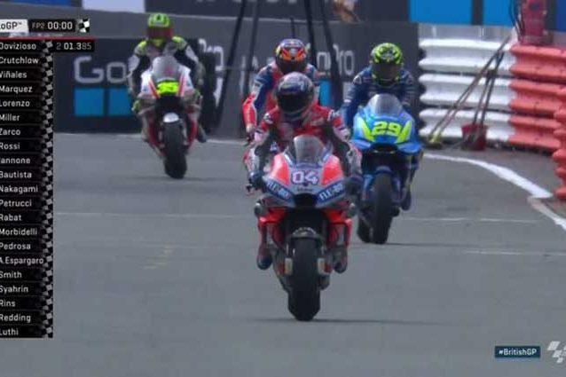 MotoGP Silverstone: Per dare il via aspetteranno fino alle 19:30!