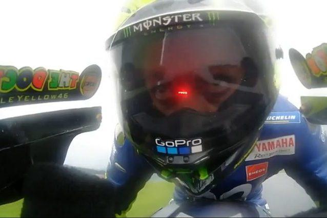 Valentino Rossi in azione al Red Bul Ring / MotoGP