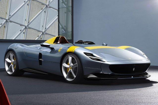 La Ferrari Monza SP1