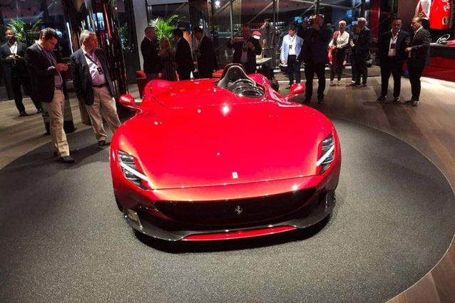 Ferrari, ecco la fuoriserie Monza da 500 esemplari