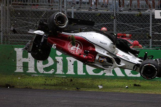 Gran Premio di Monza: pauroso incidente per Ericsson