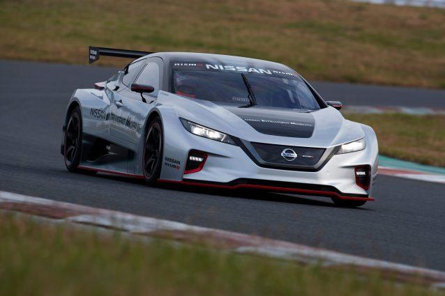 Nissan Leaf Nismo RC, l'elettrica da corsa raddoppia la potenza
