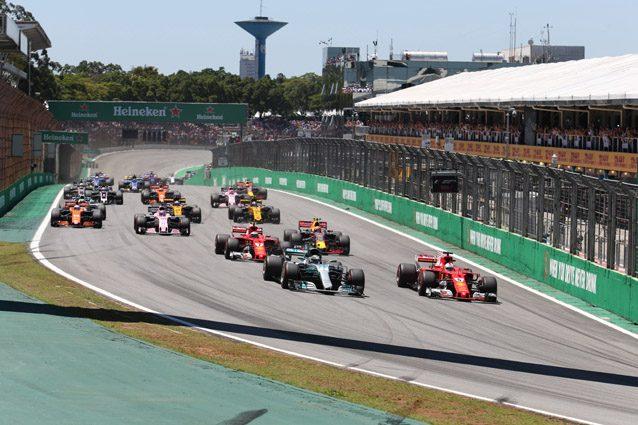 La partenza del GP del Brasile 2017– LaPresse
