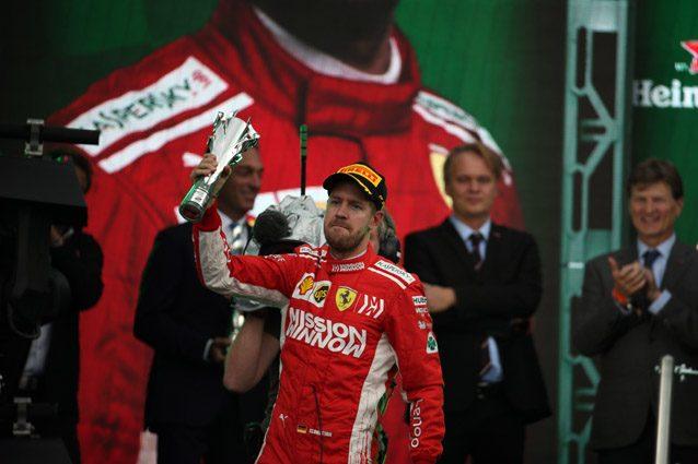 Sebastian Vettel – LaPresse