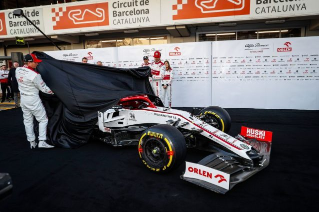 F1, l'Alfa Romeo svela la C39 di Raikkonen e Giovinazzi