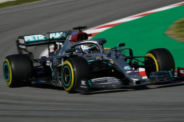 Test Barcellona, Bottas parte forte, Vettel influenzato. Sul