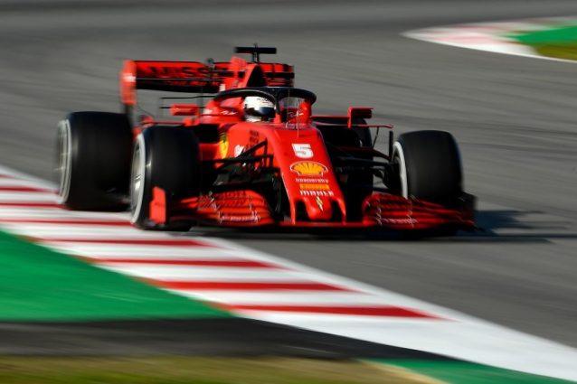 Ferrari, Sebastian Vettel: testacoda nei test al Montmelò co