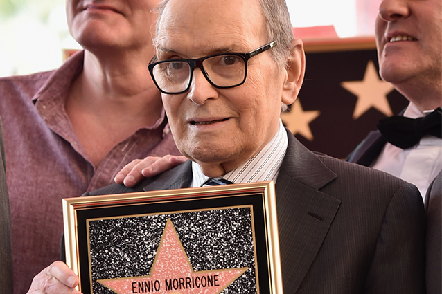 Ennio Morricone sulla Walk of Fame (Getty Images)
