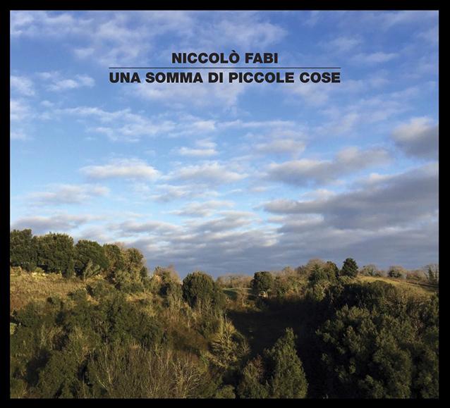 La cover di 'Una somma di piccole cose', il nuovo album di Niccolò Fabi
