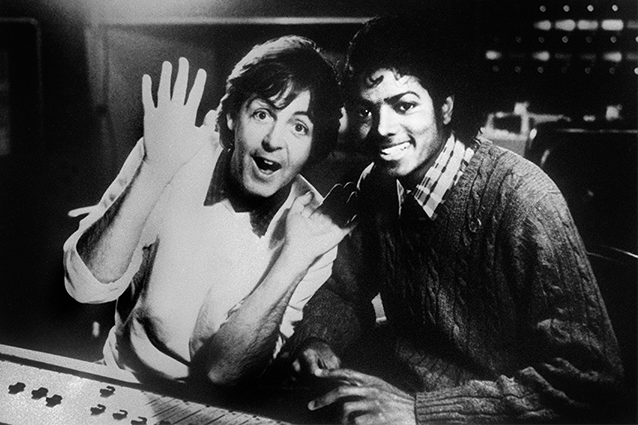 Michael Jackson e Paul McCartney dei Beatles (Getty Images)