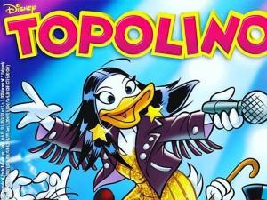 Laura Pausini in tour a Paperopoli: la cantante in copertina su Topolino