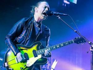Thom Yorke dei radiohead (Getty Images)