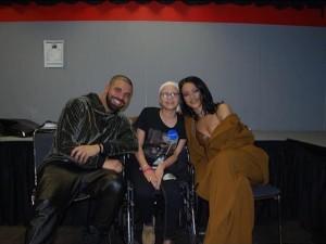 Il dolore di Drake e Rihanna per la morte della loro fan malata di cancro