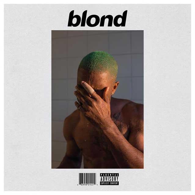 La copertina di Blonde di Frank Ocean