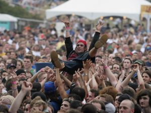 Pubblico al Lollapalooza (Matt Carmichael/Getty Images)