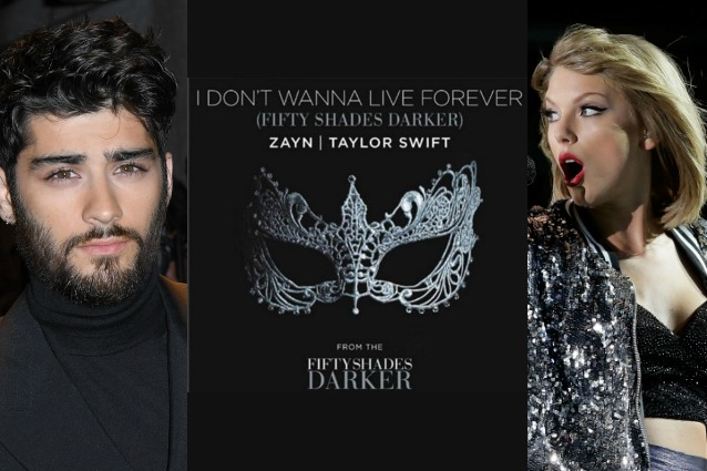 Zayn Malik e Taylor Swift cantano 'I Don't Wanna Live Forever' in 50 sfumature di nero