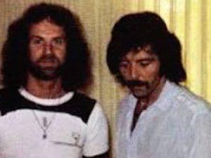 Geoff Nicholls e Tommy Iommi dei Black Sabbath (via Facebook)