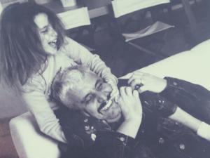 Sara e Pino Daniele (via Instagram)