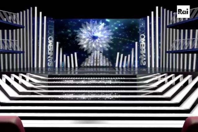 """Presentata la scenografia, De Filippi: """"Speravo non ci fossero le scale"""""""