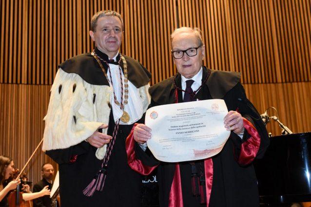 Milano celebra Ennio Morricone, laurea ad honorem della Statale per il maestro