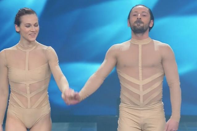 La danza dei Kitonb a Sanremo, balla Leonardo Fumarola ex di Saranno Famosi