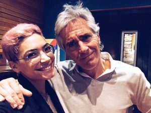 Elodie e Fabrizio Giannini (via Facebook)