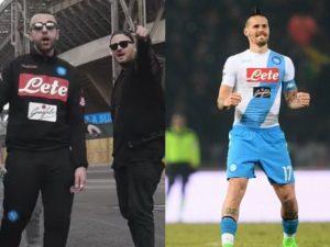 """Marekiaro non guarda al denaro"", il rap di Giusè Campana dedicato a Marek Hamsik"
