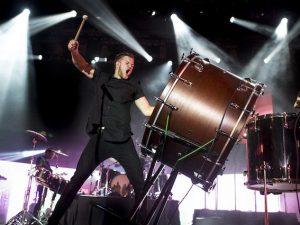 Dan Reynolds, cantante degli Imagine Dragons (Getty Images)