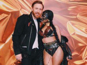 Nicky Minaj e David Guetta (via Instagram)